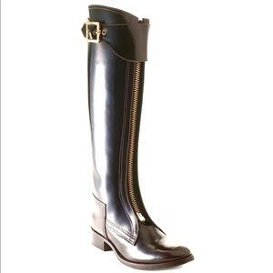 Tory Burch Marco knee high riding boots